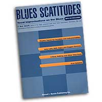 Bob Stoloff : Blues Scatitudes : Scat : 01 Songbook & 1 CD : 752187431114 : 1930080018 : 14004707