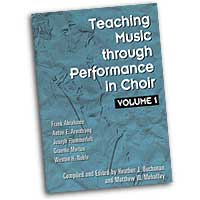 Weston H. Noble, Anton E. Armstrong, Joseph Flummerfelt  : Teaching Music through Performance in Choir : 01 Book :  : 6534