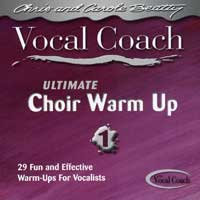Chris and Carole Beatty : Ultimate Choir Warm Ups Vol 1 : 00  1 CD Vocal Warm Up Exercises :  : VCD 4200
