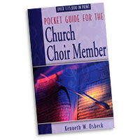 Kenneth Osbeck : Pocket Guide for the Church Choir Member : 01 Book :  : 9780825434082 : 9780825434082
