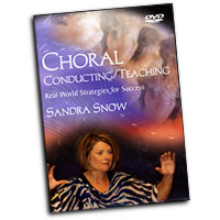 Sandra Snow : Choral Conducting / Teaching : DVD : Sandra Snow :  : DVD-800