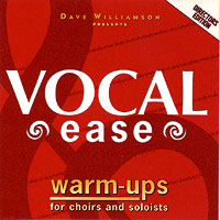 David Williamson : Vocal Ease Warm Ups - Directors Edition : 00  1 CD Vocal Warm Up Exercises :  : 645757097332