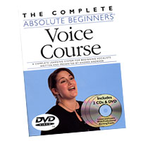 Andres Andrade : The Complete Absolute Beginners Voice Course : Book, DVD & CD : 752187995098 : 0825636698 : 14007267