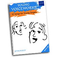 Jo McNally : Young Voiceworks 32 Songs for Young Singers : Kids : Songbook & 2 CDs :  : 9780193435551