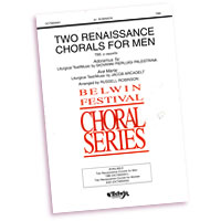 Various Arrangers : Rennaissance Chorals For Men : TTBB : Sheet Music