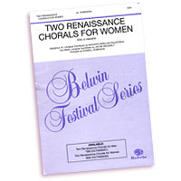 Various Arrangers : Rennaissance Chorals for Women : SSAA : Sheet Music :