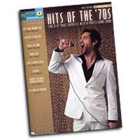 Pro Vocal : Hits Of The '70's - Male Voice : Solo : Songbook & CD :  : 00740383