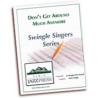 Ward Swingle : A Cappella Jazz for SSAA : SSAA : Sheet Music