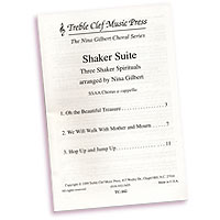 Nina Gilbert : Three Shaker Spirituals : SSAA : Sheet Music :  : TC-162