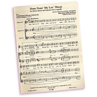 Marylou India Jackson : Three Spirituals : SSAA : Sheet Music