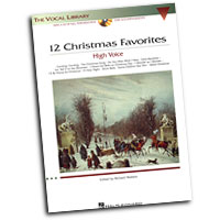 Richard Walters : 12 Christmas Favorites - High Voice : Solo : Songbook & CD : 073999712766 : 0634081829 : 00000384