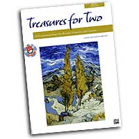 Andy Beck : Treasures for Two : Duet : 01 Songbook & 1 CD : 00-23890
