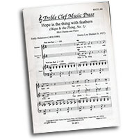 Emma Lou Diemer : Hope Is the Thing: An Emily Dickinson Suite : SSAA : Sheet Music