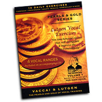 Judy Clark : Lutgen Vocal Exercise Vol 1 - High Voice : Solo : 01 Book Warm Up & 1 CD :  : LHV-V1