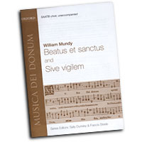 William Mundy : Beatus et Sanctus, sive vigilem : SAATB 5 Parts : Sheet Music :  : 9780193870055 : 9780193870055