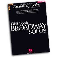 Joan Frey Boytim : The First Book of Broadway Solos for Mezzo-Sopranos : Solo : Songbook & CD : 073999616644 : 0634022822 : 00740135