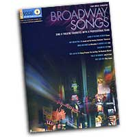 Pro Vocal : Broadway Songs - For Male Singers : Solo : Songbook & CD : 00740248
