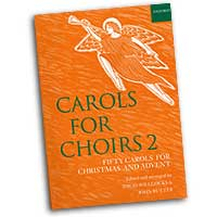 Reginald Jacques (editor) : Carols for Choirs Vol 2 : SATB : 01 Songbook : 9780193535657