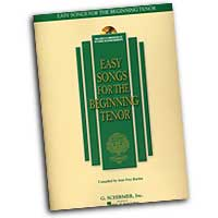 Joan Frey Boytim : Easy Songs For The Beginning Tenor : Solo : Songbook & CD : 073999837582 : 0634019716 : 50483758
