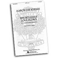 Aaron Jay Kernis : Ecstatic Meditations : Mixed 5-8 Parts : Sheet Music