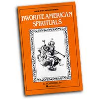 Parker / Shaw : Favorite American Spirituals : SATB : 01 Songbook : 073999365986 : 50501600
