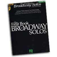 Joan Frey Boytim : The First Book of Broadway Solos - Baritone / Bass : Solo : Songbook & CD : 073999799217 : 0634022849 : 00740137