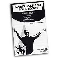 Jester Hairston : Spirituals and Folk Songs : SATB : 01 Songbook : Jester Hairston : 163176