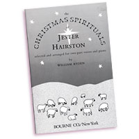 Jester Hairston : Christmas Spirituals : 2-Part : 01 Songbook : Jester Hairston : 407548