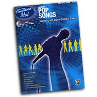 Various Arrangers : American Idol: Pop Solos : Solo : Songbook & CD : 00-27680