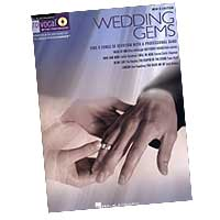 Pro Vocal : Wedding Gems - For Men's Voices : Solo : Songbook & CD :  : 00740310