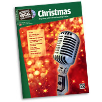 Various Arrangers : Ultimate Vocal Sing-Along: Christmas : Solo : Songbook & CD : 038081335957 : 00-31418