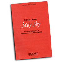 Libby Larsen : May Sky - A Collection of Haiku Kai : SSAATTBB : 01 Songbook : 9780193866225