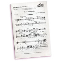 Jonathan Wilcocks : Three Sea Shanties : SATB : Sheet Music :  : X404