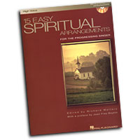 Richard Walters : 15 Easy Spiritual Arrangements - High Voice : Solo : Songbook & CD : 073999922769 : 0634098454 : 00000391