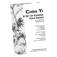 Chen Yi : Three Sets of Chinese Folk Songs : Sheet Music