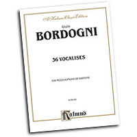 Marco Bordogni : Thirty-six Vocalises in Modern Style : Solo : Vocal Warm Up Exercises :  : 029156038682  : 00-K09149