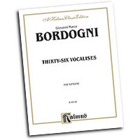 Marco Bordogni : Thirty-six Vocalises in Modern Style : Solo : Vocal Warm Up Exercises :  : 029156082586  : 00-K09148
