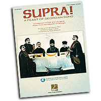 Clayton Parr : Supra! A Feast of Georgian Song : SATB : 01 Songbook & 1 CD : 884088246198 : 1423440781 : 08748930