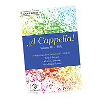 Various Arrangers : A Cappella! Volume 3 : Songbook :  : cge293