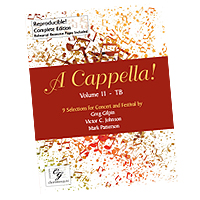 Various Arrangers : A Cappella! Volume 2 : TB : Songbook : CGE162