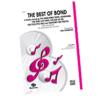 Various Arrangers : James Bond - The Choral Music of 007 : SATB : Sheet Music