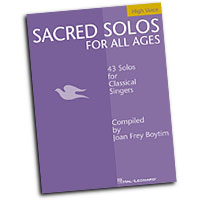 Joan Frey Boytim : Sacred Solos for All Ages : Solo : Songbook : 073999546712 : 0634048503 : 00740199