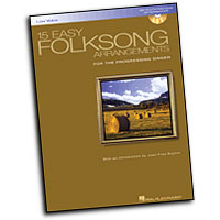 Various Composers : 15 Easy Folksong Arrangements - Low Voice : Solo : Songbook & CD :  : 073999788921 : 0634077287 : 00740269