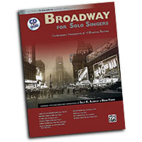 Sally K. Albrecht and Brian Fisher : Broadway for Solo Singers : Solo : Songbook & CD : Sally K. Albrecht : 038081311104  : 00-28566