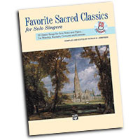 Patrick M. Liebergen : Favorite Sacred Classics for Solo Singers - High : Solo : Songbook & CD : 038081113555  : 00-11511