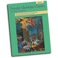 Patrick Liebergen : Favorite Christmas Classics for Solo Singers - Low : Solo : Songbook & CD : 038081153438  : 00-17932