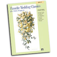 Patrick Liebergen : Favorite Wedding Classics for Solo Singers - Low : Solo : Songbook & CD : 038081188065  : 00-19903