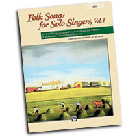 Jay Althouse : Folk Songs for Solo Singers, Vol. 1 - High : Solo : Songbook & CD :  : 038081212296  : 00-21838