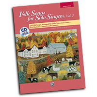 Jay Althouse : Folk Songs for Solo Singers, Vol. 2 - Medium High : Solo : Songbook & CD :  : 038081136516  : 00-16304