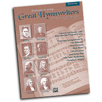 Various Arrangers : Great Hymnwriters (Portraits in Song) - Medium High : Solo : Songbook : 038081280707  : 00-25855